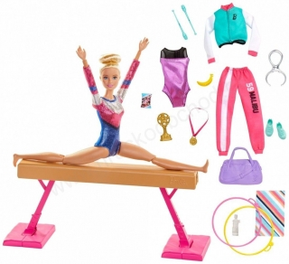 Barbie GJM72 GYMNASTKA - herní set